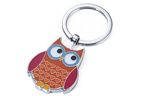 TROIKA Rosy KR14 13BR Schluesselanhaenger Trend Eule 500x330 - TROIKA Rosy - KR14-13/BR - Schlüsselanhänger - Trend: Eule - Owl - verchromt - glänzend - braun - das ORIGINAL